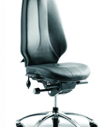 RH 400 leather headrest side