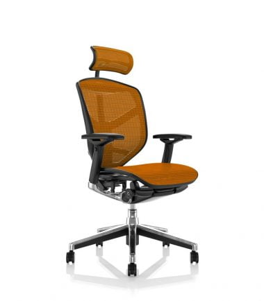 Enjoy headrest orange