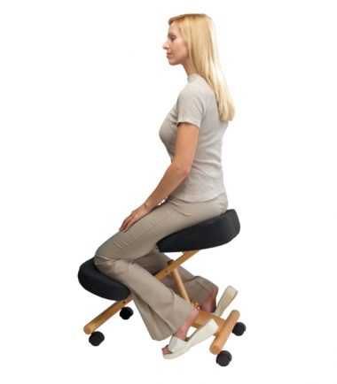 Putnams kneeling chair in use