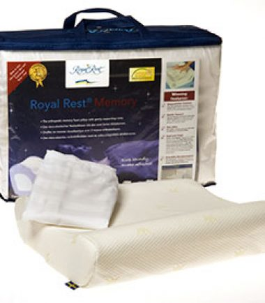 Royal Rest Pillow Contoured To Help