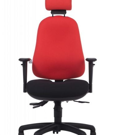 Zenfit chair red front