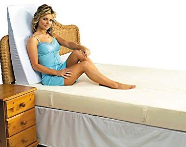 bed wedge upright