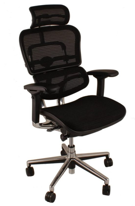 Egohuman chair black