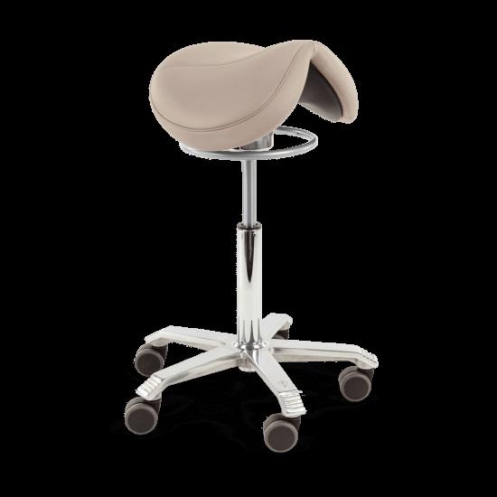 grey saddle stool