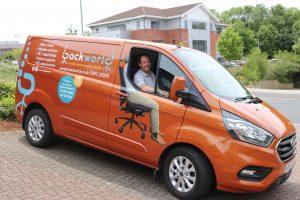 me and van